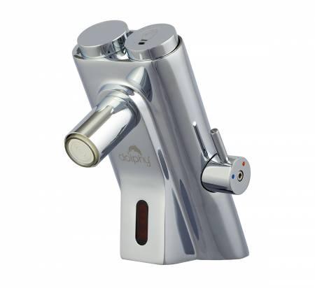 Deck Mounted Automatic and Manual Sensor Mixer Faucet
