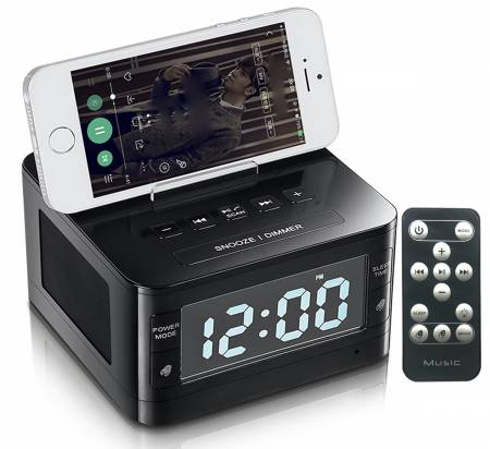 Alarm Clock, FM Radio with LED Display