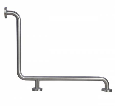 SS two wall L-Type Safety bar