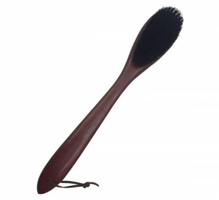 Multifunction Custom Wooden Coat Brush With Shoe Horn