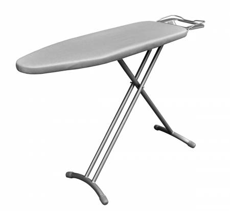 Extra Large Board with Ironing Rest, Height Adjustment