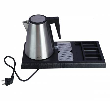 1.2 L Stainless Steel Kettle with Tray Sets