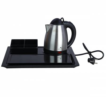 Electric Kettle with Melamine Tray Set