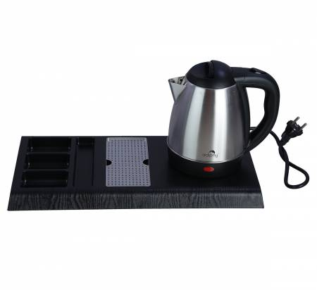 Stainless Steel Kettle with Tray Sets-1.2 L