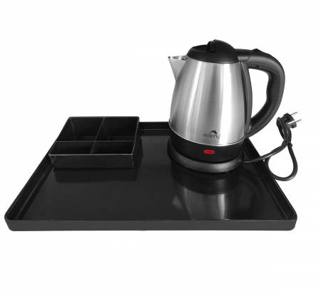Kettle With Amenity Tray
