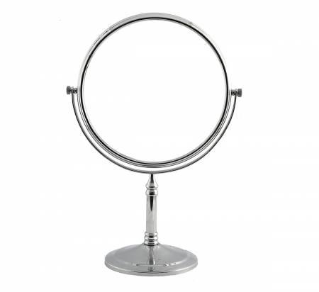 Silver Tabletop Vanity Mirror