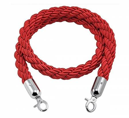 Red Nylon Twisted Rope