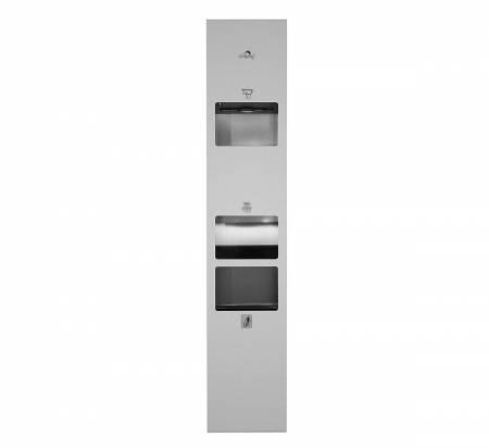 Automatic Paper Dispenser, Hand Dryer & Bin